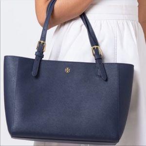 Tory Burch small Robinson bag tote buckle
